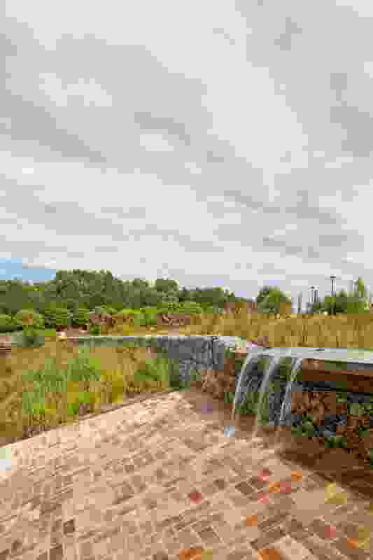 Sydney Park Water Re-use Project by Turf Design Studio and Environmental Partnership