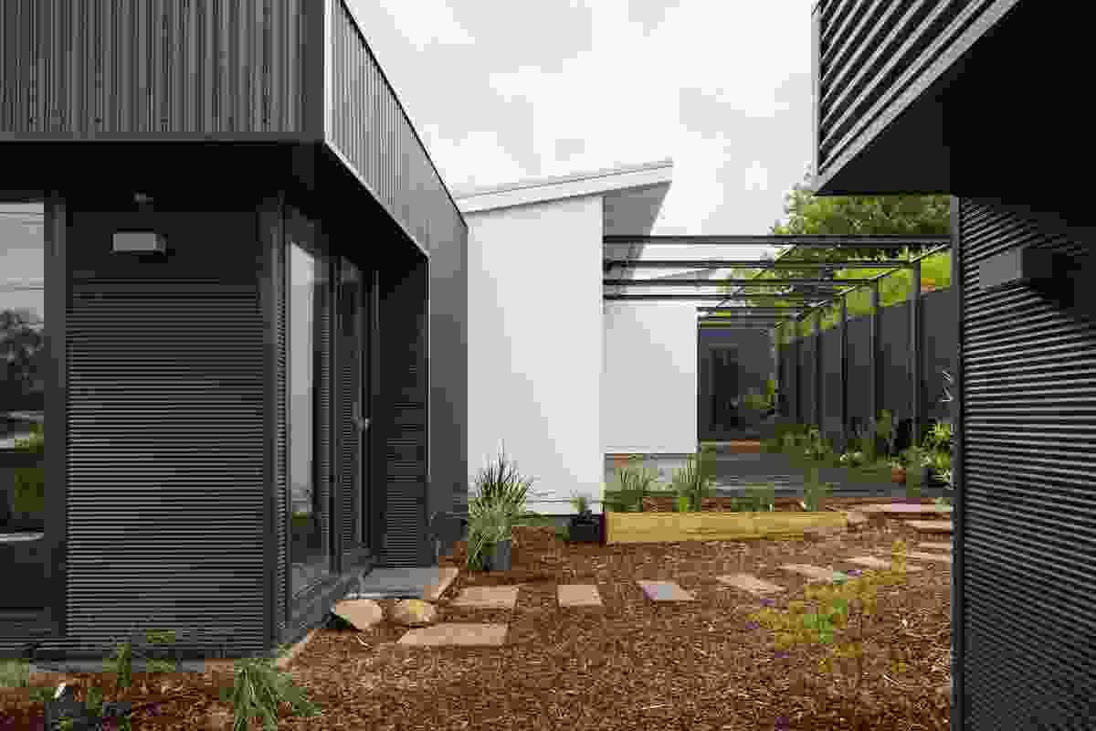 Narrabundah House + Studio by Jigsaw Housing.