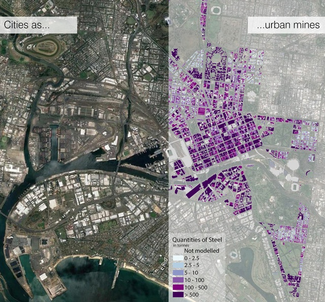 Our Cities Need To Go On A Resource Diet Landscape Australia - Steel maps of us cities
