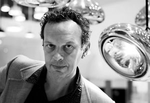 Designer Tom Dixon at Dedece in Sydney,  February 2013.