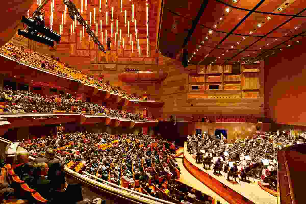 Hamer Hall by ARM Architecture.