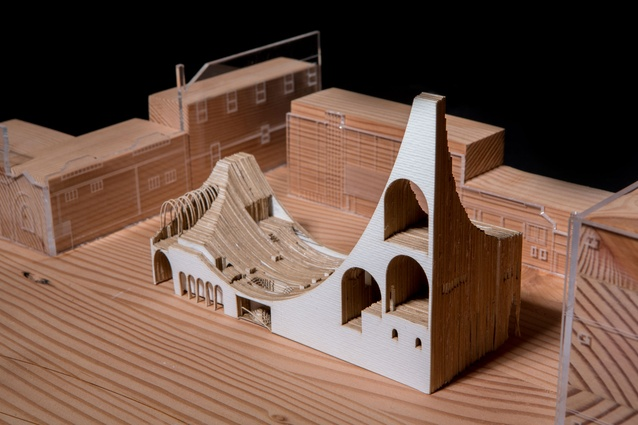 The Arch-Museum, a project by University of Sydney graduate student Gracie Guan.