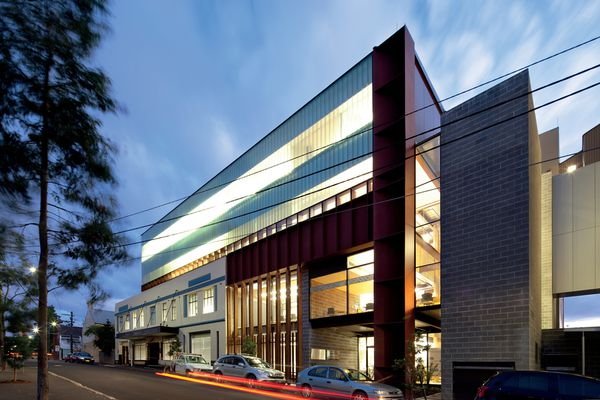The Youth Mental Health Building at the Brain and Mind Research Institute in Camperdown, Sydney.