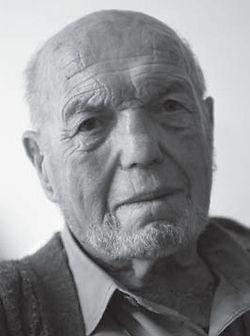 Wolfgang Sievers at 90. Photograph John Gollings.