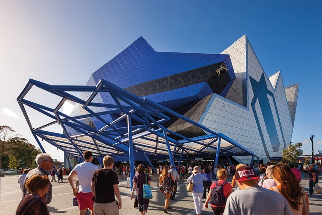 For Perth Arena, ARM Architecture selected eight pieces of Lord Monckton's Eternity Puzzle to compose the building's perimeter and facades.
