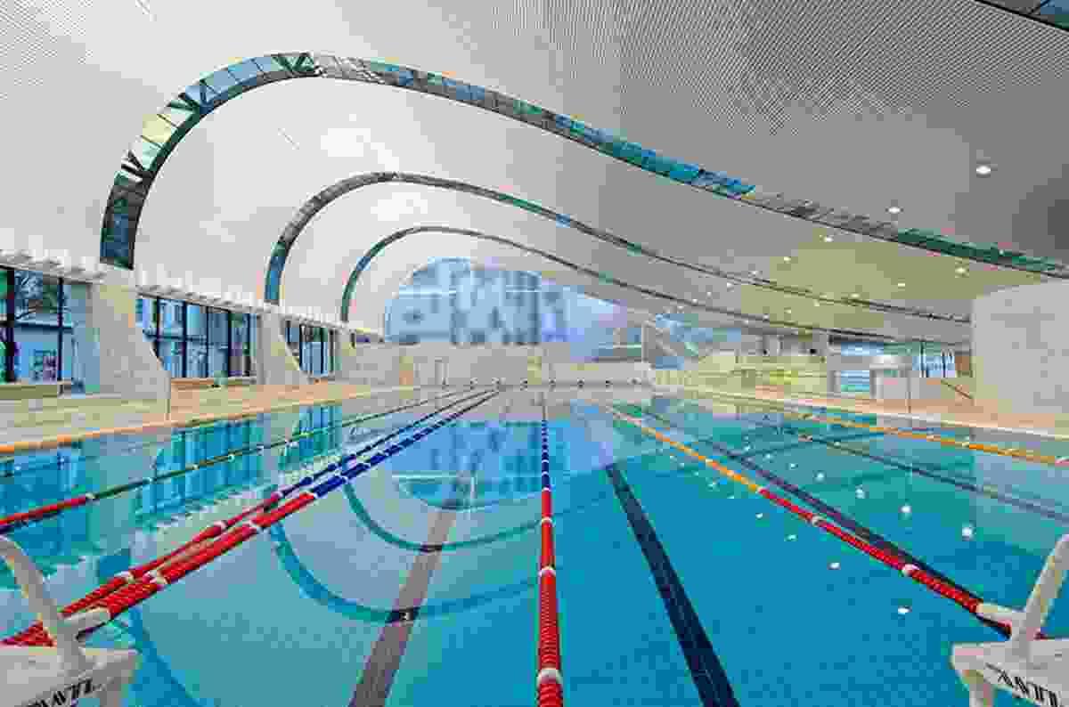 Ian Thorpe Aquatic Centre in Sydney, 2001–2007.