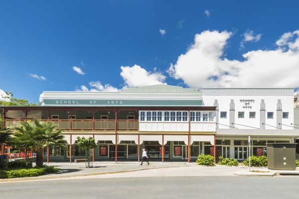 TPG Architects' extensions to and heritage adaptation of the School of Arts, Cairns Museum building (2017) restore the city's oldest public building while also adding a new chapter to the building's story.