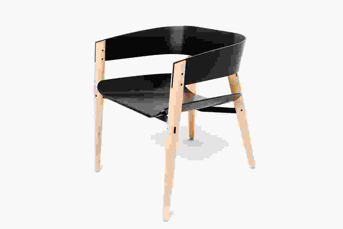 November Lounge Chair by Callum Campbell of Central Institute of Technology.