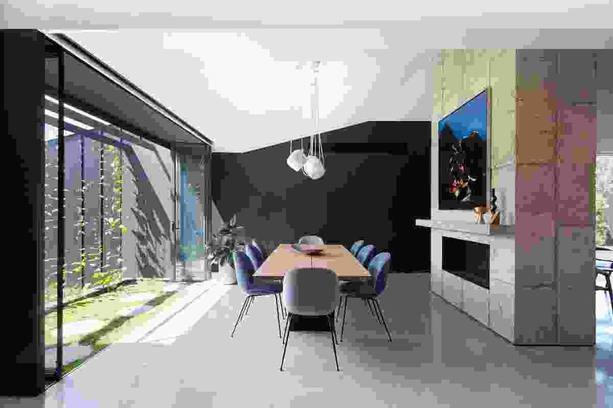 Shadow House by Matt Gibson Architecture + Design with Mim Design.