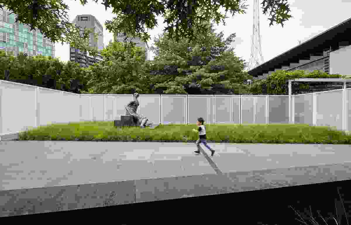Garden Wall (NGV Architecture Commission) by Retallack Thompson and Other Architects.