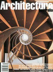 """""""Davina's Last Issue – 33% More Gossip"""". Architecture Australia, May/June 2000."""