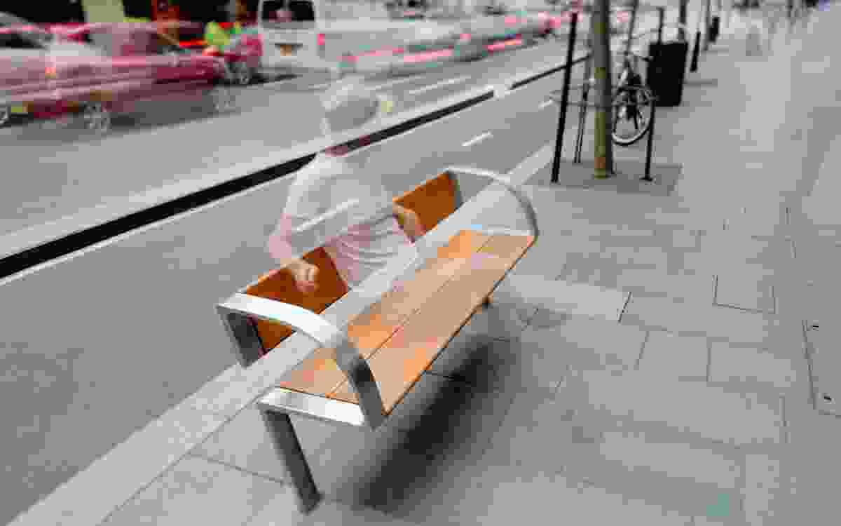 Urban furniture for the City of Sydney by Tzannes.