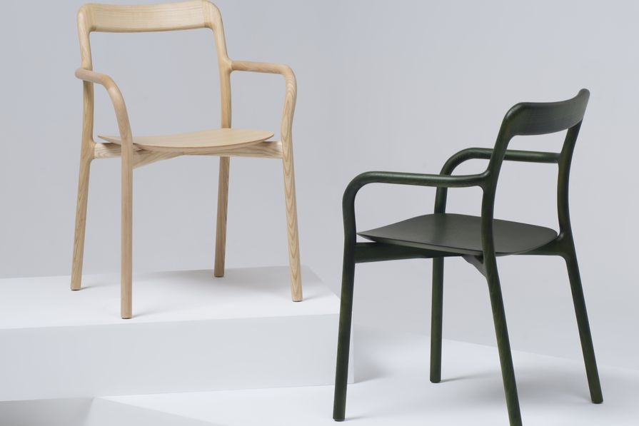 Mattiazzi's Branca Chair, designed by Sam Hecht and Kim Colin.