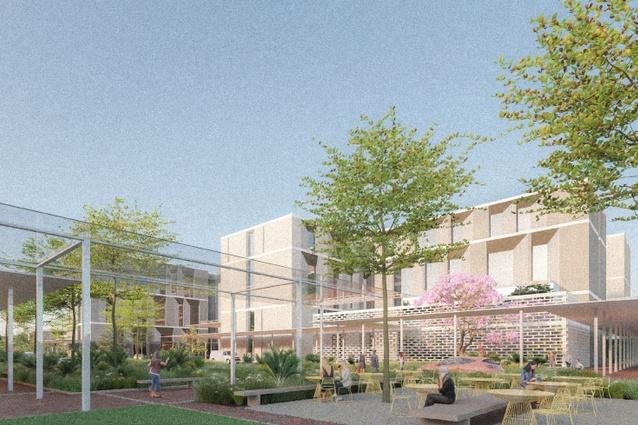 Tweed Valley Hospital by Silver Thomas Hanley and Bates Smart.