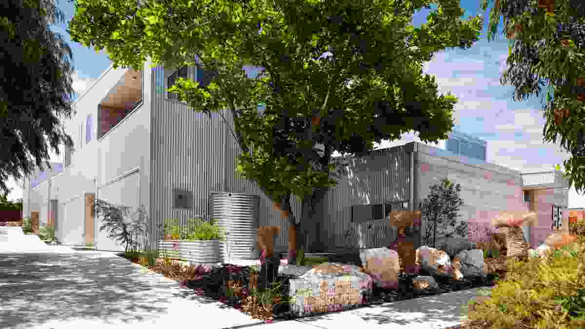 Residential – Multiple Housing, Sustainable: 58 Stevens Street by Officer Woods Architects.