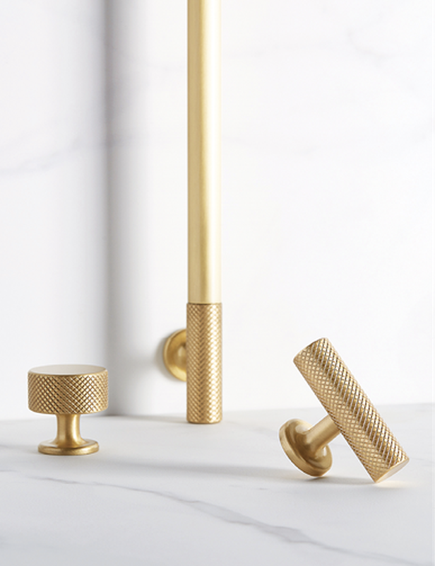Sparkbrook brass hooks and handles from Gregory Croxford Living.