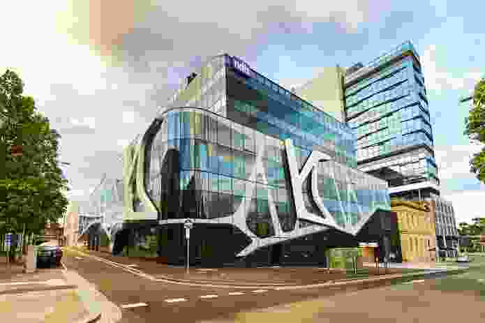 The National Disability Insurance Scheme head office in Geelong, designed by Woods Bagot.