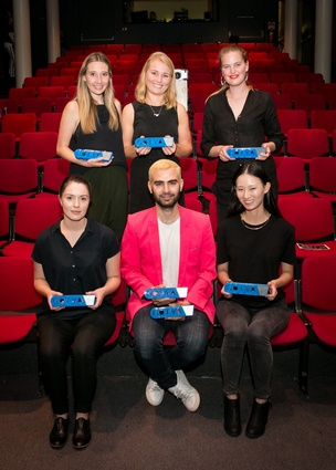2015 NSW/ACT GOTYA winners Rosie Schloeffel, Hannah Clifton, Elizabeth Hackney, Amy Leedham, Yousef Akbar, Yan Lin. Absent: Rei Mai.