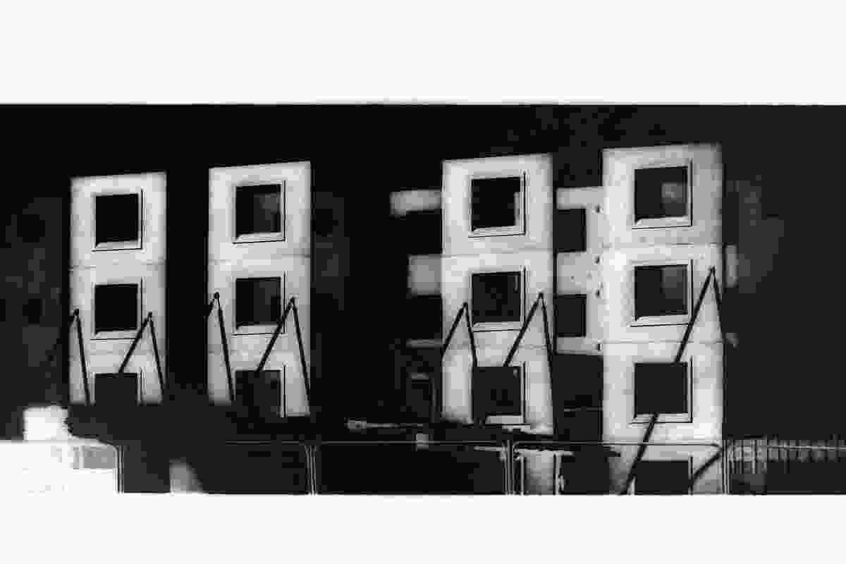 Jonathan Gibb's Empty Windows and Undercroft series.