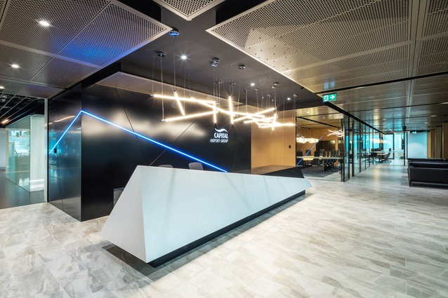 Capital Airport Group Office Fitout by Cox Architecture.