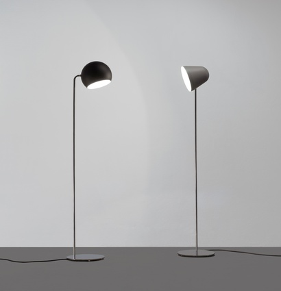 Nyta Globe and S floor lamps.