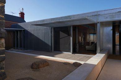 Edward Street House by Sean Godsell Architects.