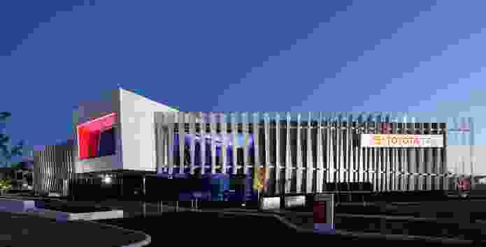 Toyota WA Head Office by Roxby Architects.