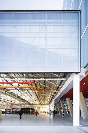 Tonsley Main Assembly Building and Pods by Woods Bagot and Tridente Architects was the first Australian urban renewal project to be granted a six-star Green Star Communities certification.