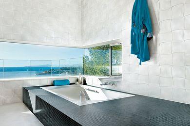 Bond Collection tiles.