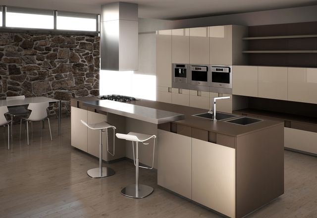 The Bontempi Ice kitchen.