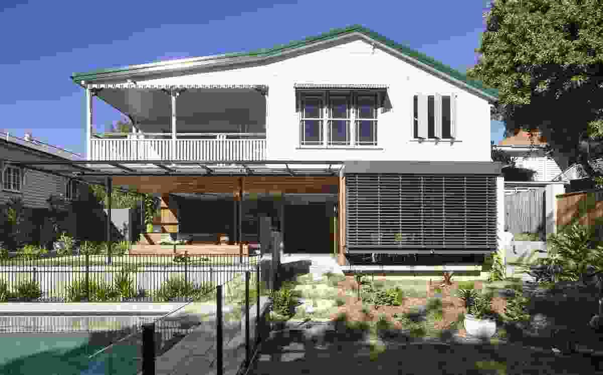 Bardon Residence by Kieron Gait Architects.