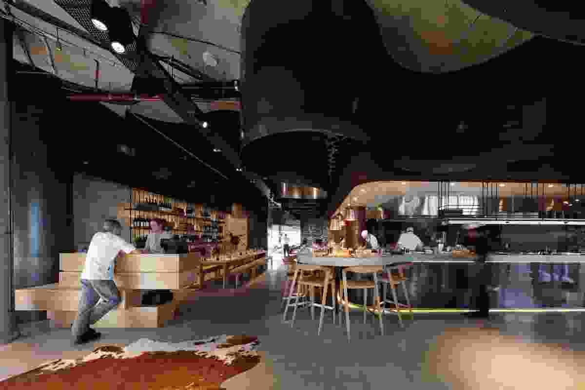 Pony Restaurant Brisbane by Woods Bagot.