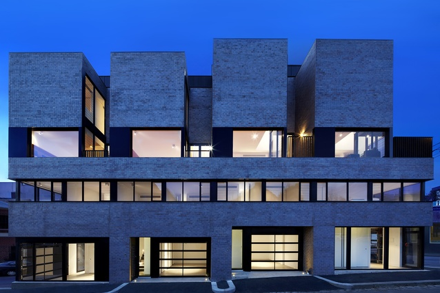 North Melbourne Townhouses (Vic) by Freadman White Architects.