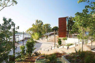 Rockhampton Riverside by Urbis.