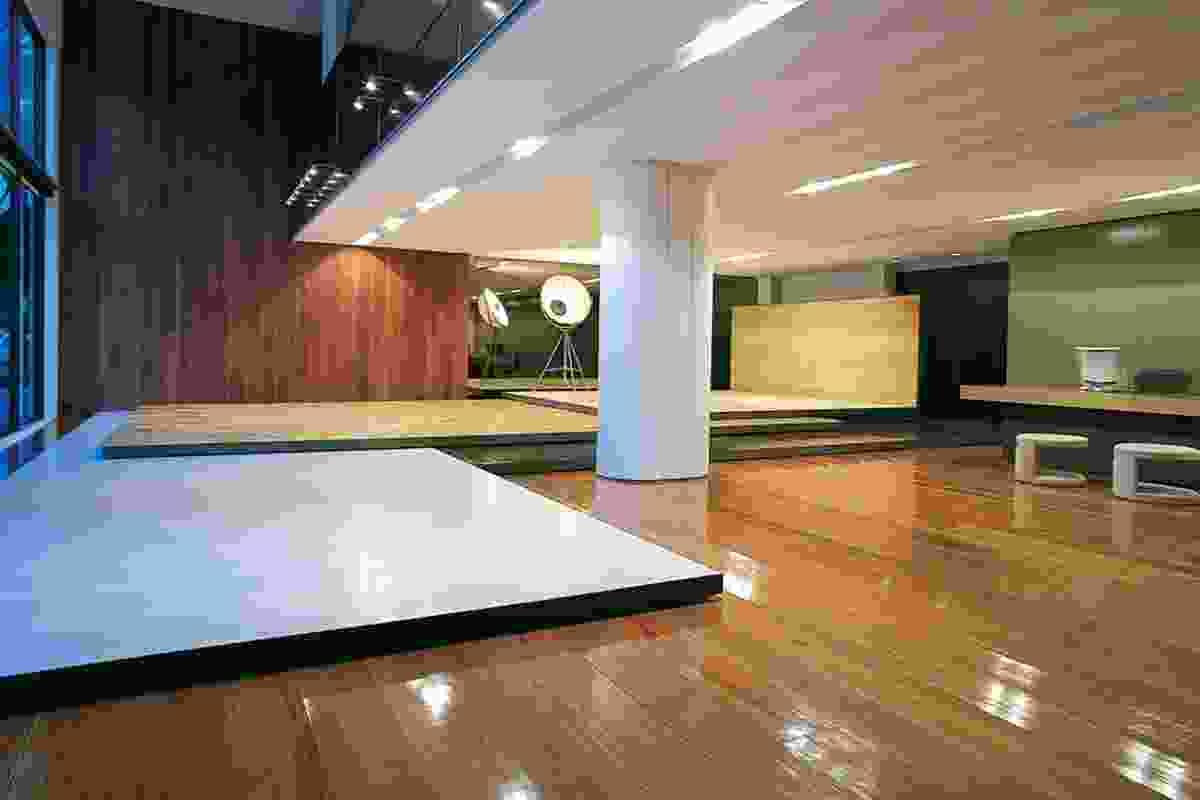 2004 Retail Design Award: Precision Flooring by Tobias Theodore.