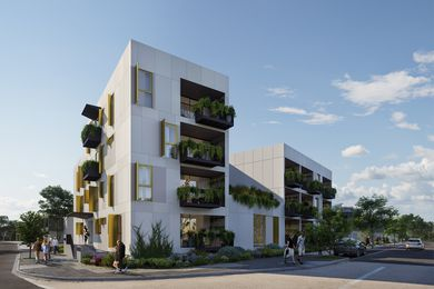 1/2/3/4/5 Cohousing by David Barr Architects.