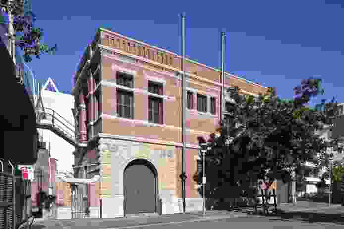 Sydney Sewerage Pumping Station No. 1 by Hector Abrahams Architects.