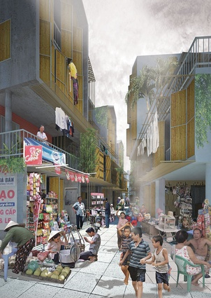 Winner – Sai Gon Informal by Ton Vu, Master of Architecture, RMIT.