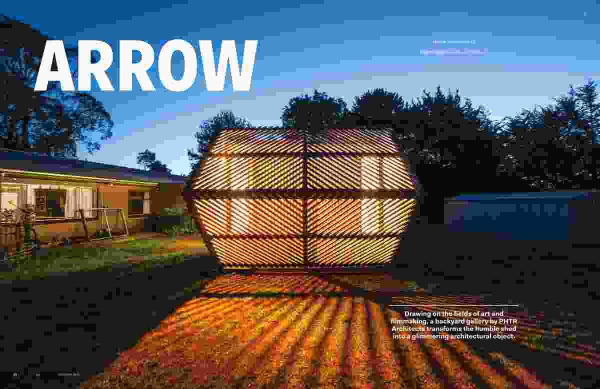 Arrow by PHTR Architects.