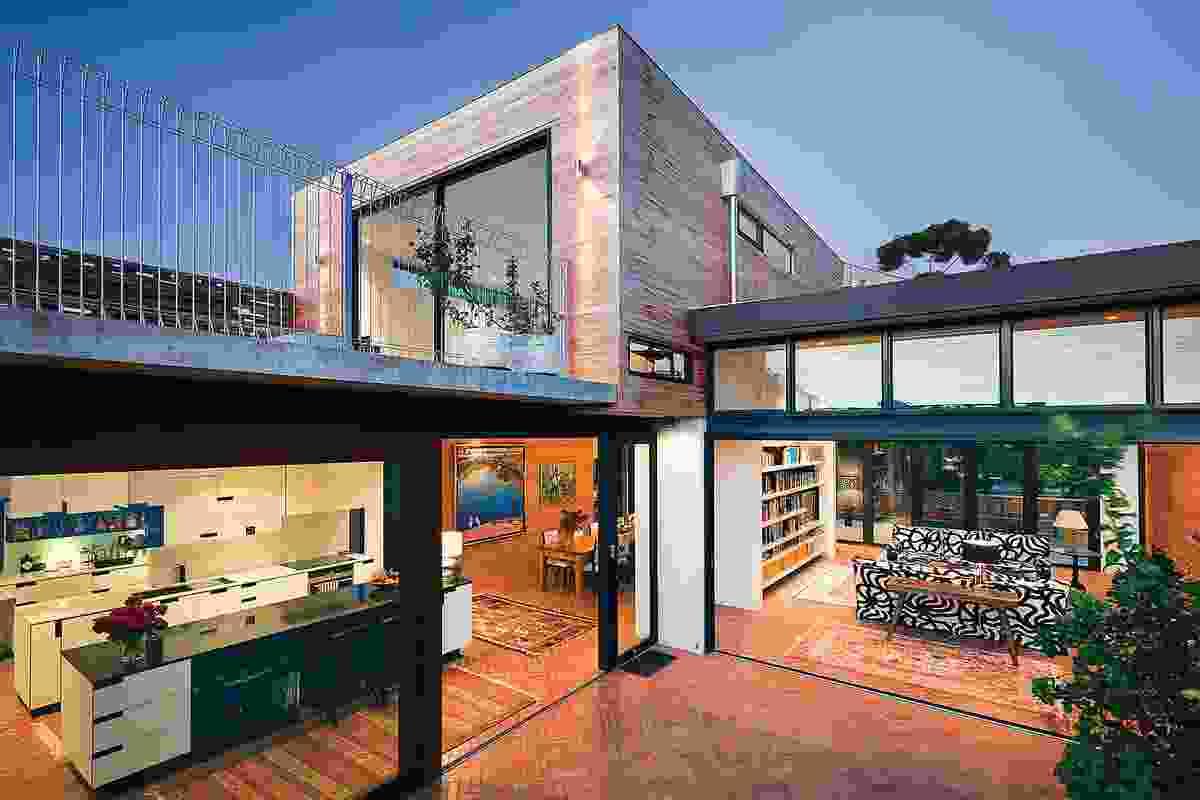 Marimekko House (WA) by Ariane Prevost Architect.