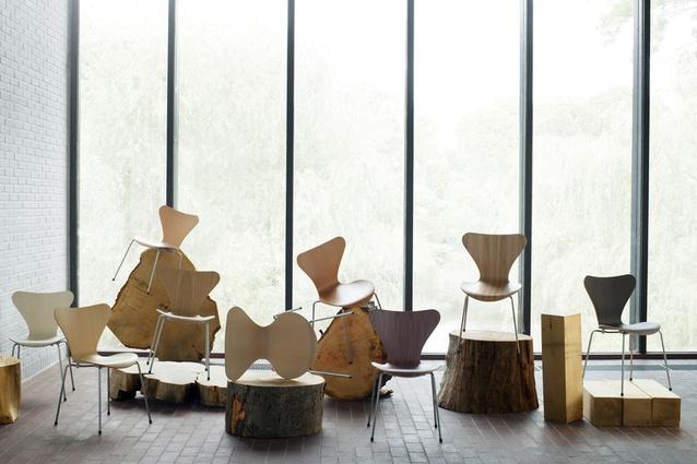 series 7 from fritz hansen architectureau