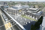 Proposed mixed-use complex to colonize railway airspace
