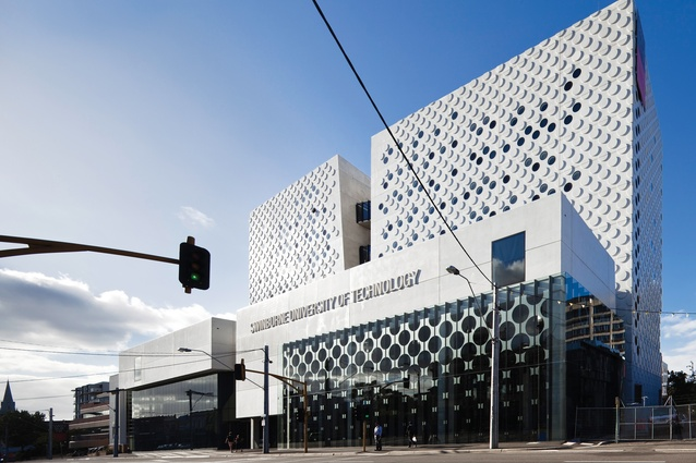 Swinburne University Advanced Technologies Centre by H2o Architects.