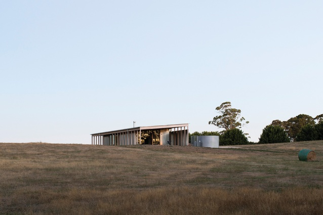 Springhill House by Lovell Burton Architecture.
