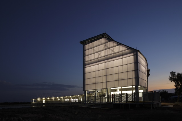 Les Wilson Barramundi Discovery Centre by Bud Brannigan Architects.