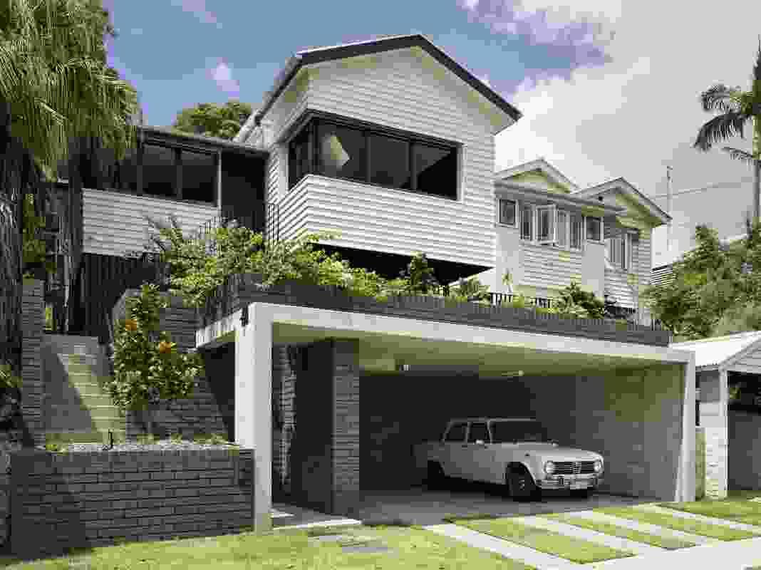 Herston Residence by Kieron Gait Architects.