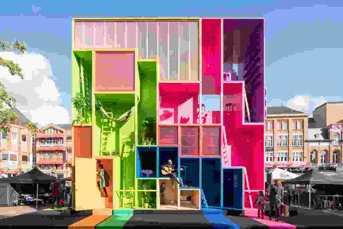(W)ego, by Winy Maas in collaboration with MVRDV, The Why Factory and TU Delft.