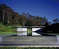 Foxground Residence, NSW, 2005, by Studio Internationale. Photograph Martin van der Wal.