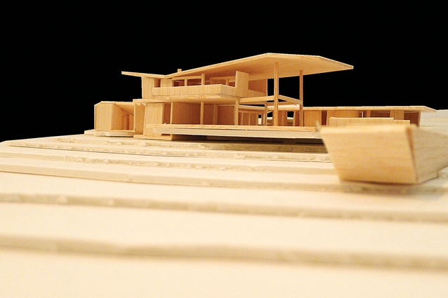 Byron Bay House (In progress): Model of house.