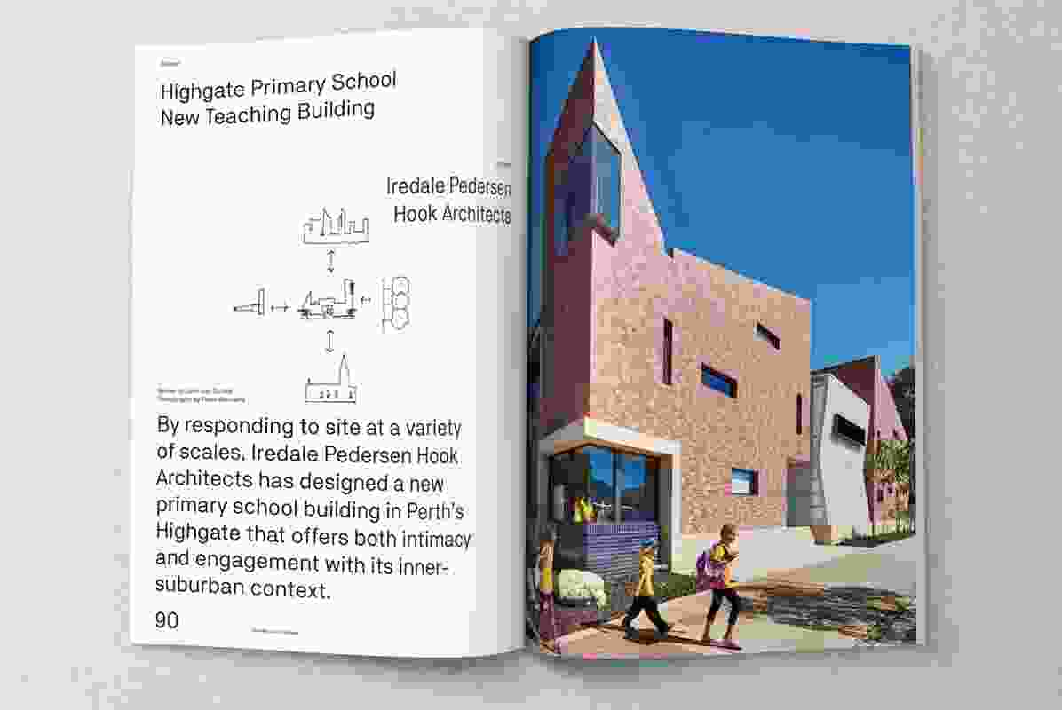Highgate Primary School New Teaching Building designed by Iredale Pedersen Hook Architects.